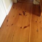 Wide Pine Floor